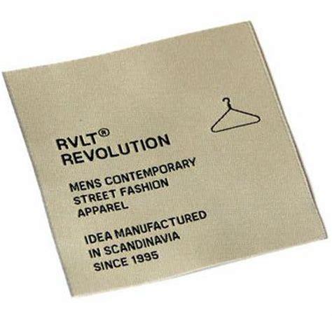design label sendiri label merk brand terkenal dan populer