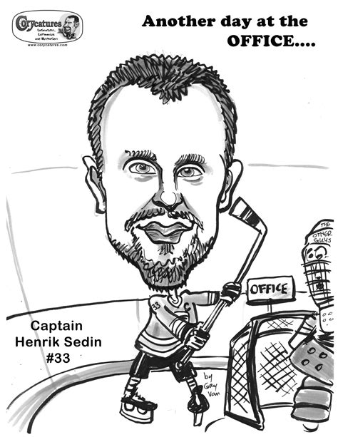 vancouver canucks free colouring pages