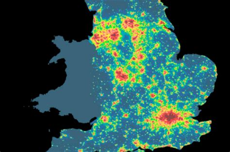 map uk interactive new interactive maps from cpre reveal s darkest