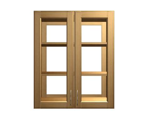4 Glass Door Wall Cabinet See Through Glass Door Wall Cabinets