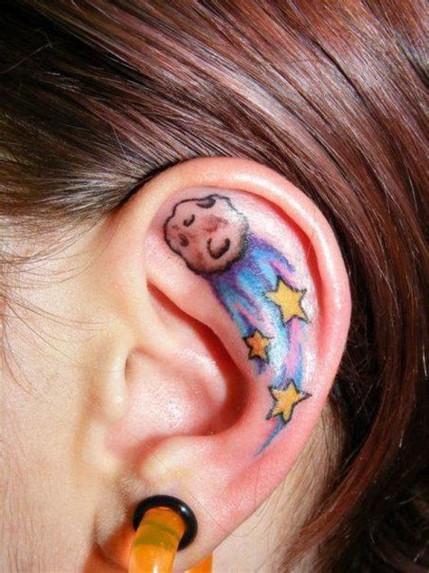 bjork tattoo behind ear tatuagens femininas na orelha