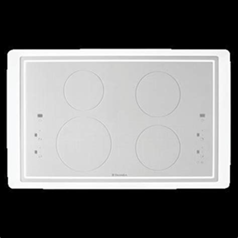 White Cooktop Electrolux 90cm White Induction Cooktop Model