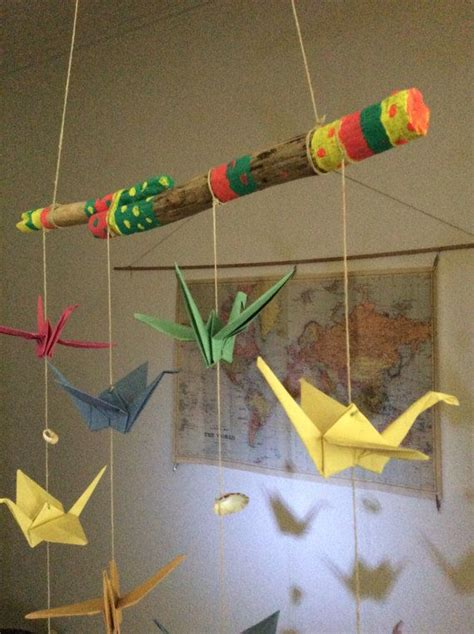 Origami Mobiles - 1000 ideas about origami mobile on mobiles