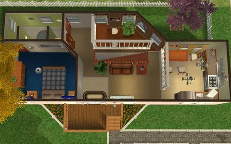 les sims 2 ikea home design kit t l charger mod the sims dodge court high end trailer home no cc