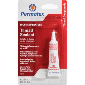Fuel System Thread Sealant Permatex 174 Thread Sealant With Ptfe Permatex