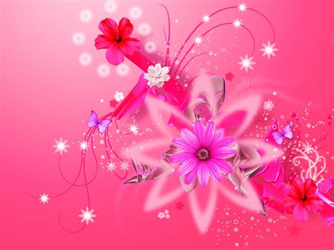 Girly Wallpaper Hd Pink | pink floral backgrounds