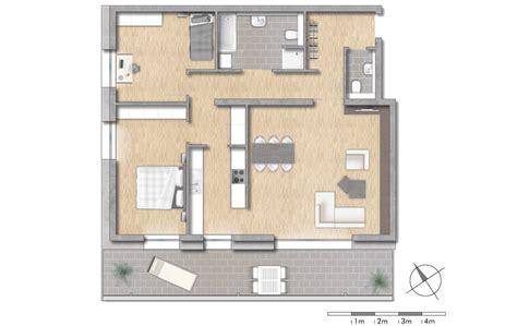 wohnung 3 zimmer grundriss quadrat4 leben in der stadt