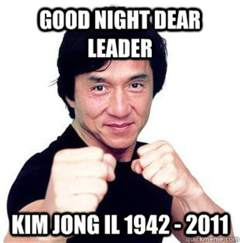 Kim Jong Il Meme - good night dear leader kim jong il 1942 2011 good