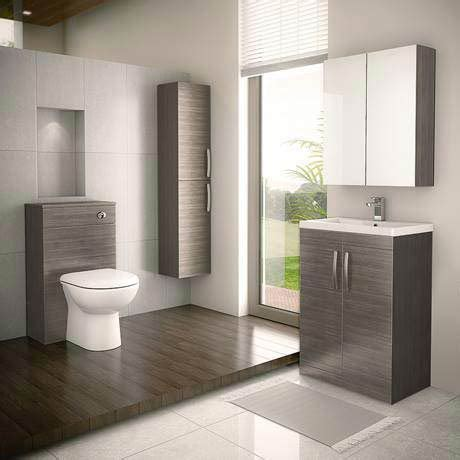 Bathroom Furniture Sale Uk Wc Unit With Cistern Grey Avola Now Available
