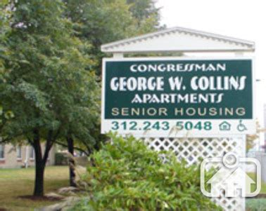 cook county section 8 waiting list congressman george w collins in chicago il