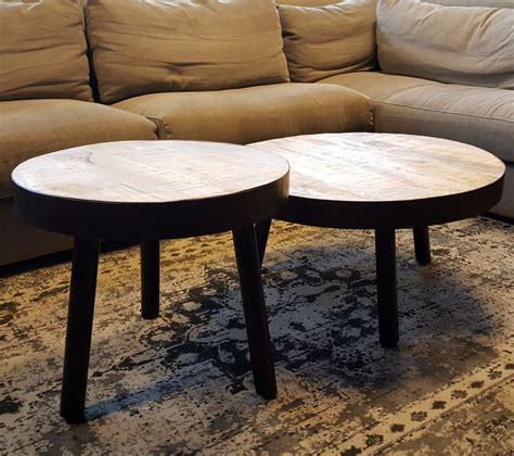 ronde poef salontafel ronde salontafel ajc meubelen