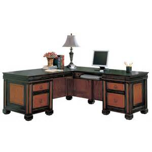 Coaster L Shaped Computer Desk by Coaster Furniture 800691 Chomedey Traditional L Shaped Desk
