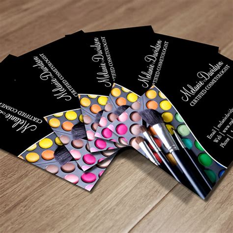 makeup business cards templates free makeup artist business card template