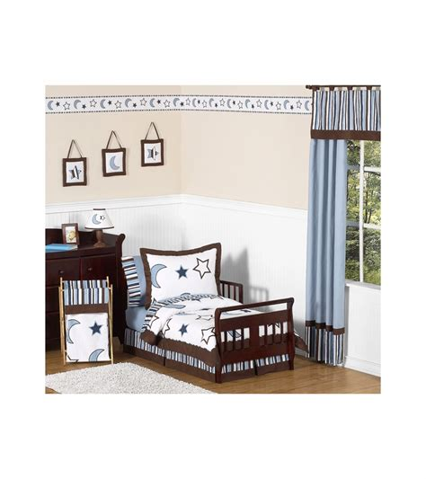 Sweet Jojo Designs Starry Night Toddler Bedding Set Starry Crib Bedding