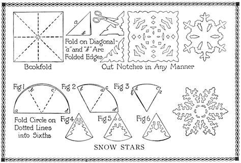 Activity Origami - snowflake craft activity origami box origami