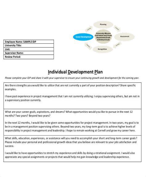 theme development exles delighted individual development plan template photos