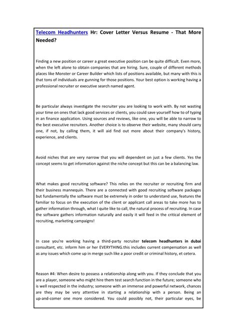 Resume Sles Ppt cover letter and resume ppt 28 images cover letter