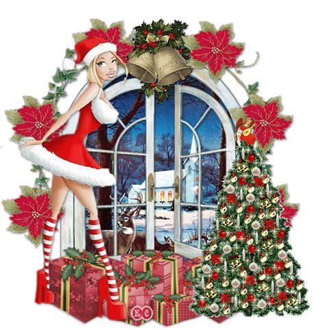 imagenes mujeres vestidas de navidad 40 gif chicas navidad con movimiento gifmaniacos es