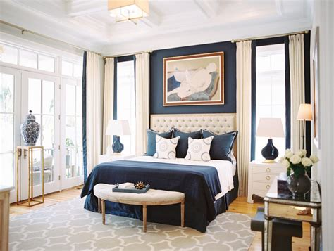 coffee and cream bedroom ideas blue and cream scheme bedroom contemporary with colbalt