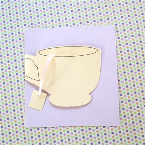 tea bag s day card template 6 printable mothers day card templates for the