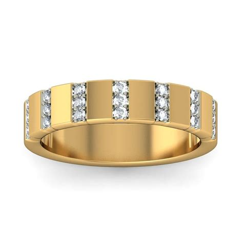 unique luxurious wedding ring band for