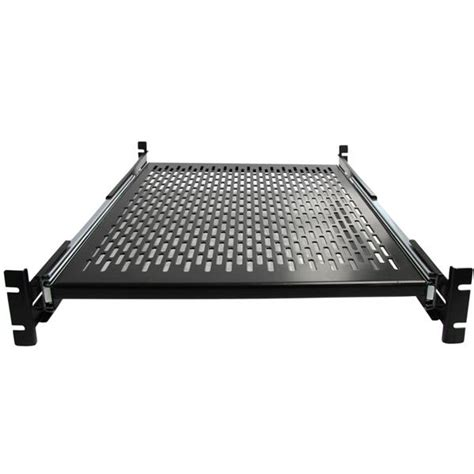 2u Sliding Rack Shelf by Server Rack Cabinet Shelf Startech