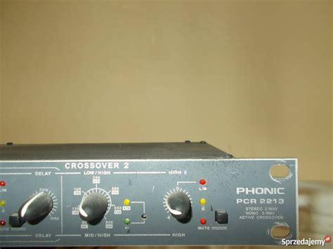 Crossover Phonic Pcr 2213 Plus crossover phonic pcr 2213 tomasz 243 w lubelski sprzedajemy pl