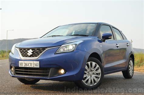 Suzuki Baleno Diesel Maruti Baleno Diesel Front Quarter Review Indian Autos