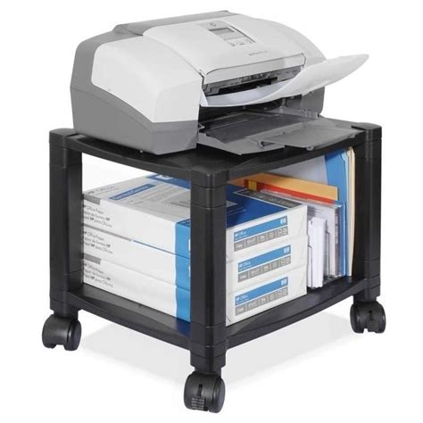 Desk Printer Stands by Kantek Ps510 Desk 2 Shelf Moblie Printer Fax Stand