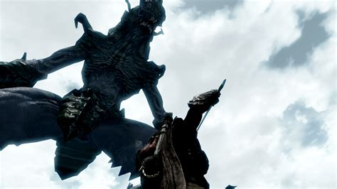 Here There Be Monsters at Skyrim Nexus - mods and community Giant Sea Monster Skyrim