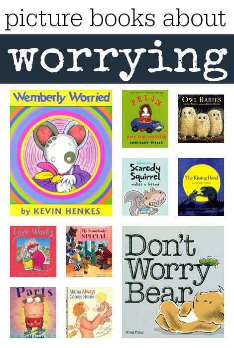 picture books for children picture books about worrying no time for flash cards