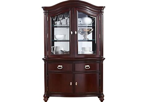 china bedroom cabinets china bedroom set bedroom furniture mansell manor cherry 2 pc china cabinet transitional