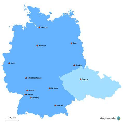 deutschland tschechien pferdesalami landkarte f 252 r - Karte Deutschland Tschechien