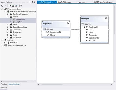 sql query in tutorial point linq sql