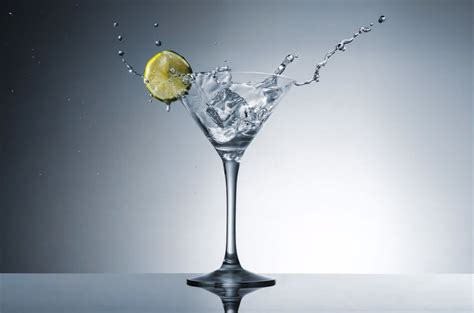 Get Perfect Martini Splashes In The Studio With Just A