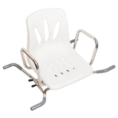 sedia girevole per vasca da bagno sedia per vasca girevole 73 cm di larghezza