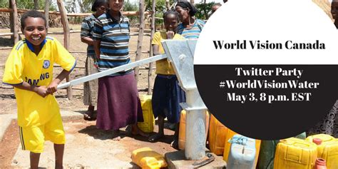 World Vision Gift Cards - world vision canada water challenge twitter party reminder tuesday may 3