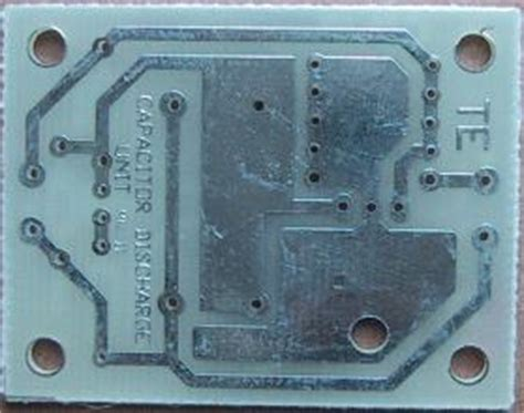 discharge capacitor circuit board capacitor discharge unit 2