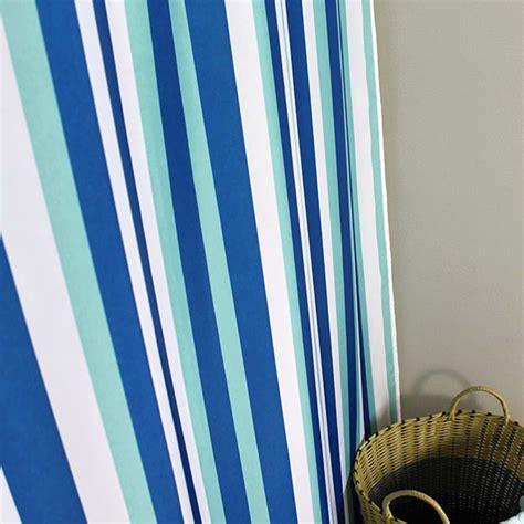 blue stripe curtain blue stripe shower curtain