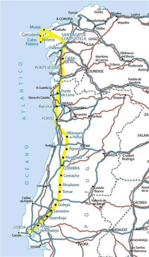 Camino De Santiago Portugal by 10 Caminos Para Peregrinar A Santiago De Compostela