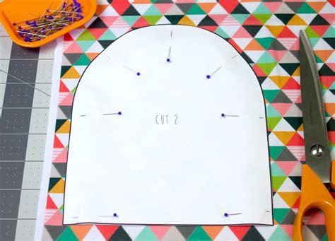 make printable fabric jersey baby hat tutorial spoonflower blog