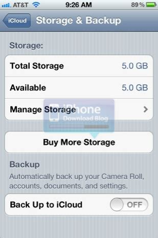 Can You Buy Icloud Storage With Itunes Gift Card - app usage and icloud settings in ios 5