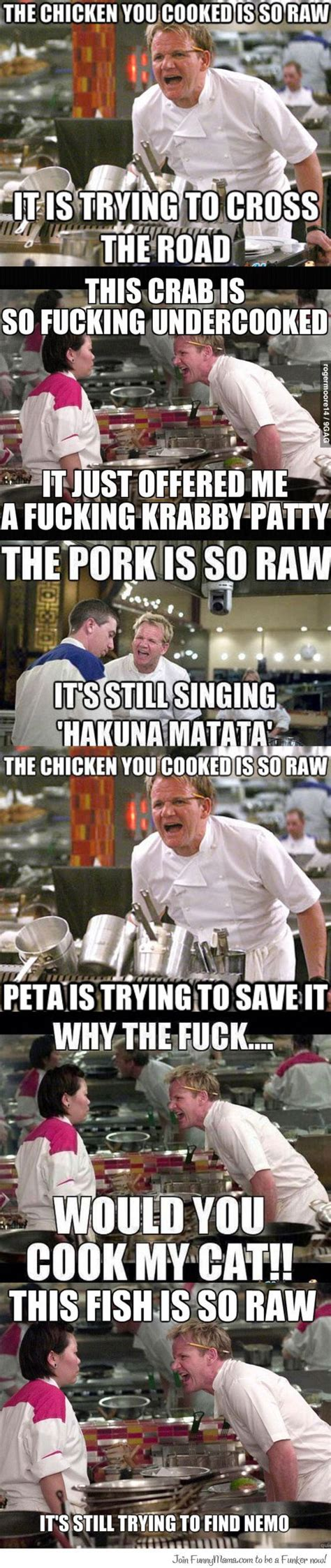 Kitchen Meme - hells kitchen memes disturbingly funny pinterest