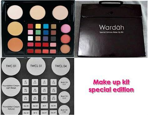 Makeup Kit Professional Wardah Kosmetik wardah make up kit special edition and professional