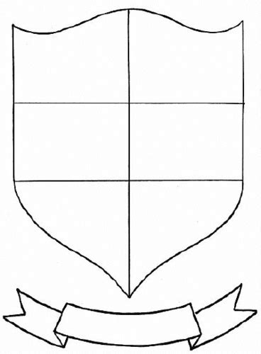coat of arms template for students tudor knights and coats of arms by mike ennington