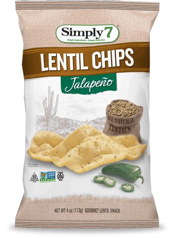 Simply7 Lentil Chips White Cheddar products simply 7 snackssimply 7 snacks