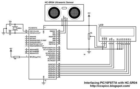 hc sr04 ultrasonic distance sensor code interfacing pic16f877a with hc sr04 ultrasonic sensor