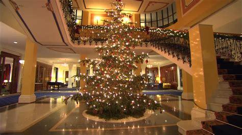 hotel lobby christmas decorations tree tree decorations hd stock 119 716 291 framepool