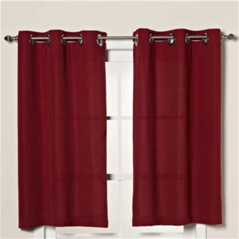 red hookless shower curtain buy hookless shower curtains from bed bath beyond