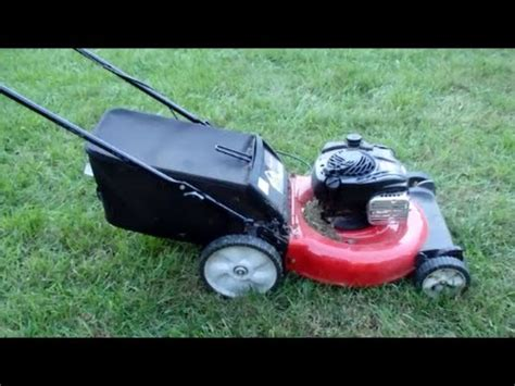 Garage Sale Lawn Mower by Yard Machines Lawn Mower 550ex Briggs Stratton Engine